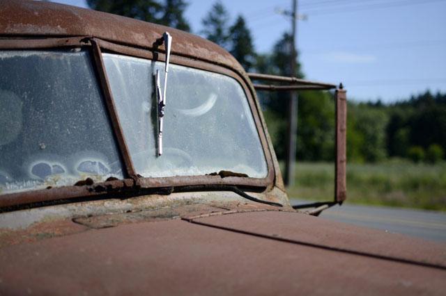 車のワイパーのイメージ写真