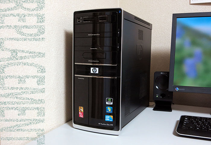 HPE-380jpをSSDに換装